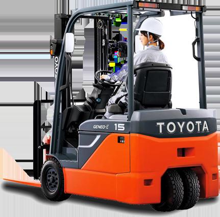reach truck rental